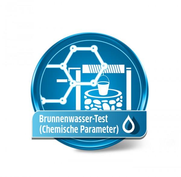 Brunnenwasseranalyse - chemisch