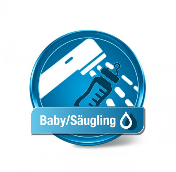 Säugling-Wassertest